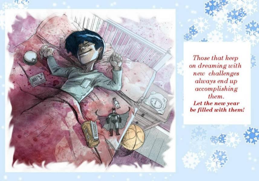Felicitaciones De Navidad Anime.Navidad 2012 Terceras Felicitaciones Rosanas Cifuentes