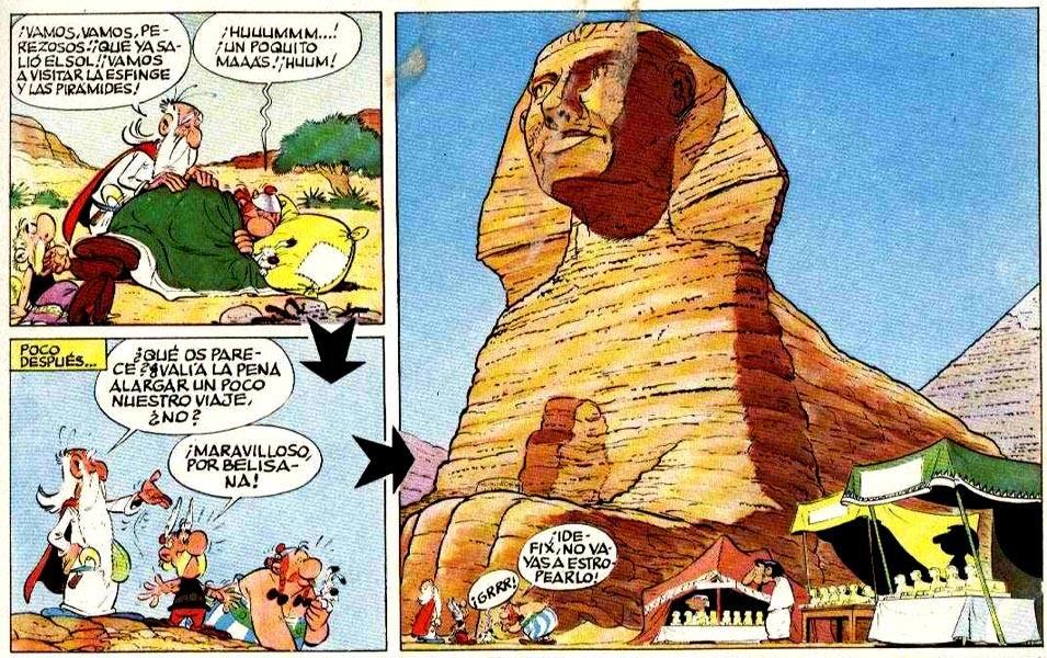 ASTERIX Y CLEOPATRA UDERZO - GOSCINNY COMIC DE PILOTE PRIMERA EDICION 1969