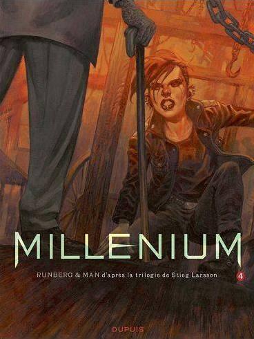Millenium 4 de Larsson, Runberg y Man. Portadas de los números 4,5 y ...